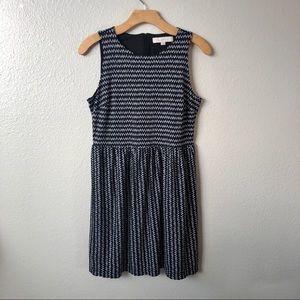 LOFT Sleeveless Print Dress
